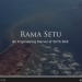 Photo courtesy, screenshot from the video on scientific explanation of Ramsetu by Art of Living