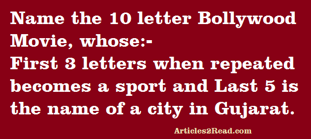 Puzzle-10-Letter-Movie-sport-city-gujarat